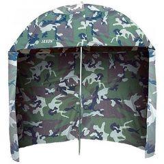 Umbrela Jaxon PVC cu parasolar camou, 250cm