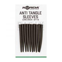 Con antitangle Korda Basix Sleeves - Camo Green