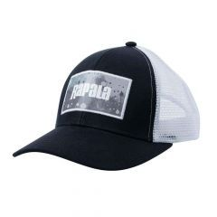 Sapca Rapala Splash Trucker Cap Black/Grey