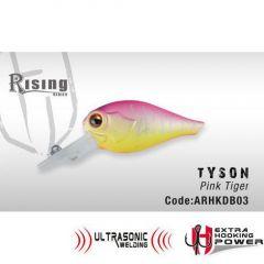 Vobler Colmic Herakles Tyson F 4.0cm, culoare Pink Tiger