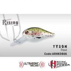 Vobler Colmic Herakles Tyson F 4.0cm, culoare Trout