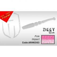 Shad Colmic Herakles Ziggy Shad 5.5cm Pink Impact