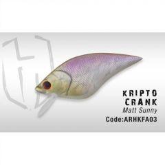 Vobler Colmic Herakles Krypto Crank 7.5cm, Matt Sunny