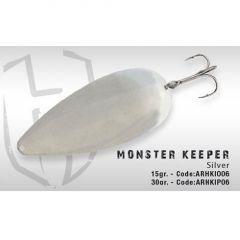 Lingura oscilanta Colmic Herakles Monster Keeper 15g Silver