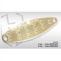Lingura oscilanta Colmic Herakles Dribble Spoon 6g Gold