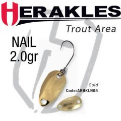 Lingura oscilanta Colmic Herakles Nail 2.0g, culoare Gold