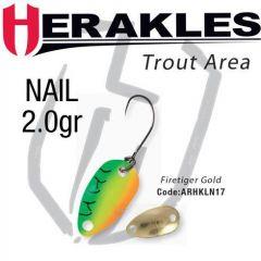 Lingura oscilanta Colmic Herakles Nail 2.0g, culoare Firetiger Gold