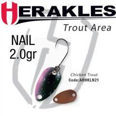 Lingura oscilanta Colmic Herakles Nail 2.0g, culoare Chicken Trout