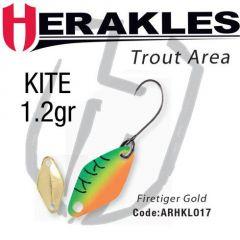 Lingura oscilanta Colmic Herakles Kite 1.2g, culoare Firetiger Gold