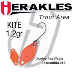 Lingura oscilanta Colmic Herakles Kite 1.2g, culoare Orange Red Flk
