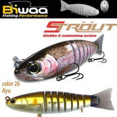 Swimbait Biwaa Strout 16cm/52g, culoare Ayu