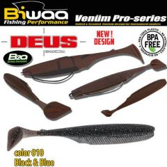 Shad Biwaa Deus 7.5cm, culoare 010 Black & Blue