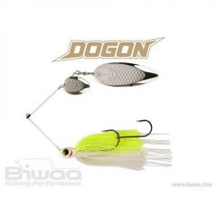 Spinnerbait Biwaa Dogon 21g White Chart-Silver Blades