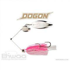 Spinnerbait Biwaa Dogon 21g Pink Ice-Silver Blades