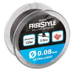 Fir textil Spro FreeStyle Ballast Braid 0.08mm/125m