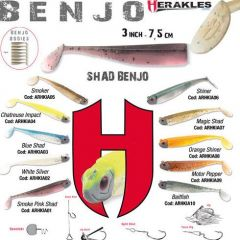 Shad Colmic Herakles Benjo 7.5cm Chartreuse Impact