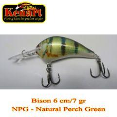 Vobler Kenart Bison 6cm, culoare NPG