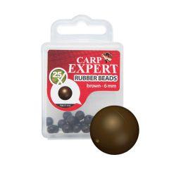 brown rubber beads carp expert