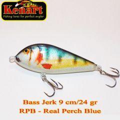 Vobler  Kenart Bass Jerk S 9cm, culoare RPB