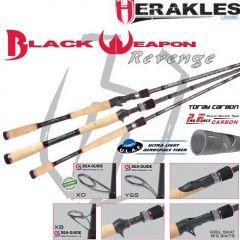 "Lanseta Colmic Herakles Black Weapon Revenge Cast 7'3"" 1-4 Big Bait Heavy"