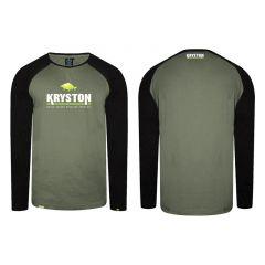 Bluza Kryston T-Shirt Long Sleeve Raglan, marime XL