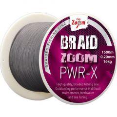 Fir textil Carp Zoom Braid Zoom PWR-X Grey 0,20mm/16kg/120m