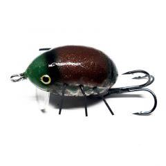 Vobler Hunter Bromba Floating 3cm/3.2g, culoare BR