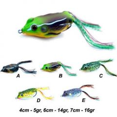 Jaxon Magic Fish Frog 5D 7cm, culoare D