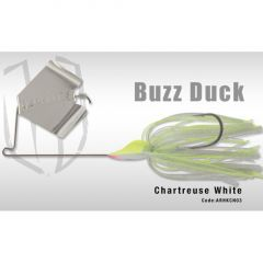 Colmic Herakles Spinnerbait Buzz Duck 14gr - Chartreuse White