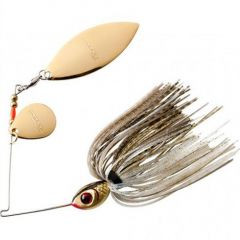 Spinnerbait Booyah Tandem 1/2oz - Gold Shiner