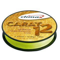 Fir textil Climax Carat 12 Fluo Yellow 0.15mm/12.8kg/135m