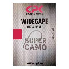Carlige CPK Supercamo Wide Gape Micro Barb
