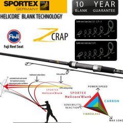 Lanseta Sportex Carp Z 3.96m, 3.75lbs