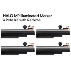 Fox Halo Illuminated Marker 1 Pole Kit