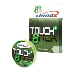 Fir textil Climax Touch 8+ Chartreuse Fluo 0.12mm/9.2kg/135m