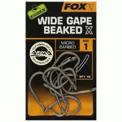 Carlige Fox Edges Wide Gape Beaked X Nr.1