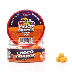 Boilies Senzor Pop-up Minis Choco Orange 4-5mm