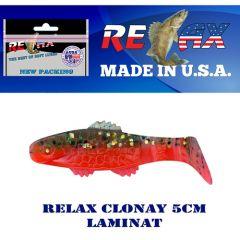 Shad Relax Clonay Laminat 5cm, culoare 191 - 15buc/plic