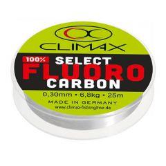 Fir fluorocarbon Climax Select Fluo 0.24mm/4.7kg/25m