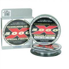 Fir monofilament Colmic X-5000 0,145mm/2,85kg/150m