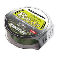 Fir textil Cormoran Corastrong 8X Braid Green 0.16mm