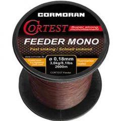 Fir monofilament Cormoran Cortest Feeder Mono 0,25mm/6,3kg/1400m