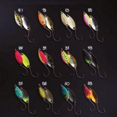 Lingura oscilanta Crazy Fish Cory 1.1g, culoare 43