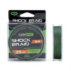 Fir textil Carp Pro Shock Braid 0.16mm/11.40kg/50m