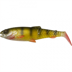Craft Cannibal Paddletail 10.5cm, culoare Perch Shad Savage Gear