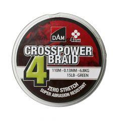 Fir monofilament DAM Crosspower 4 Braid 0.10mm/150m