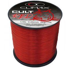 Fir monofilament Climax Cult Crap Red Line 0.40mm/1000m