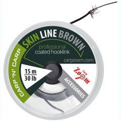 Fir textil Carp Zoom SkinLine 4x4 20lb, 15m - Brown