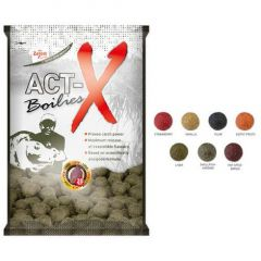 Boilies Carp Zoom Act-X Strawberry 16mm, 800gr