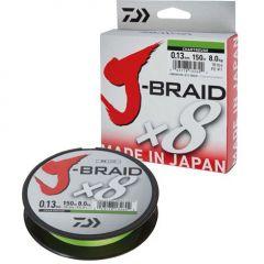 Fir textil Daiwa J-Braid Chartreuse X8 0.06mm/4kg/150m